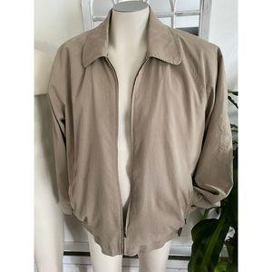 VTG TravelSmith 100% silk jacket      MM